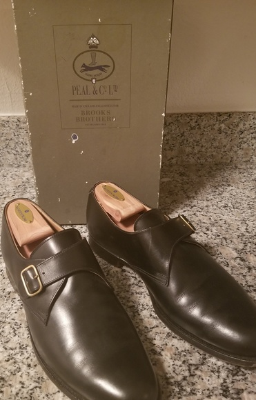 846ea9fe96d86 Brooks Brothers Other - Brook Brothers by Peal   Co Monk Strap Dress Shoes